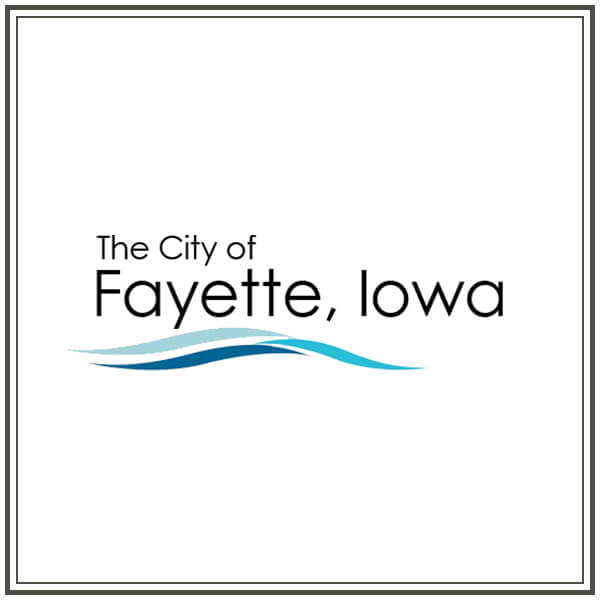 City of Fayette, Iowa Logo