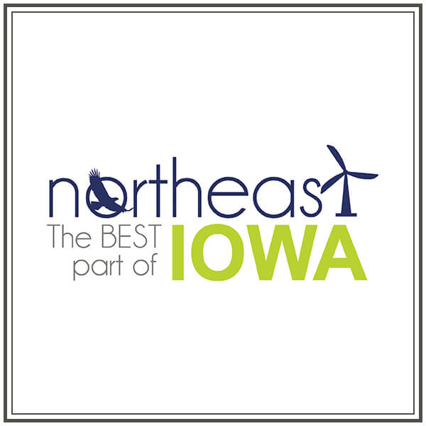 Northeast the Best Part of Iowa Logo